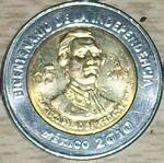 Francisco Primo de Verdad y Ramos 5 peso coin 2008