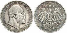 Oldenburg 2 mark 1891