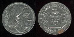 Koblenz 25 pfennig 1921