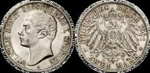 Saxe-Weimar-Eisenach 2 mark 1901