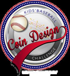 Kid's Baseball Coin Design Challenge logo