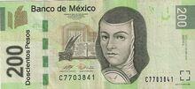 Mexico 200 pesos 28.4.2008 obv