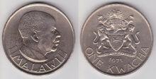 Malawi 1 kwacha 1971