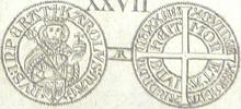 Aachen groschen 1374
