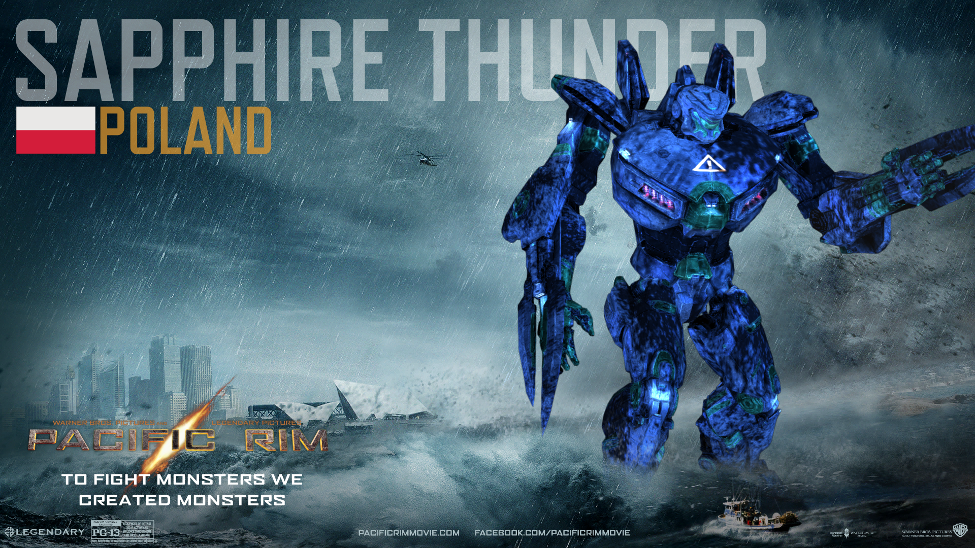 Pacific Rim Equipment >> Sapphire Thunder | Custom Pacific Rim Wiki | FANDOM ...