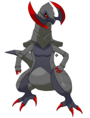 Shiny Haxorus by Kidel