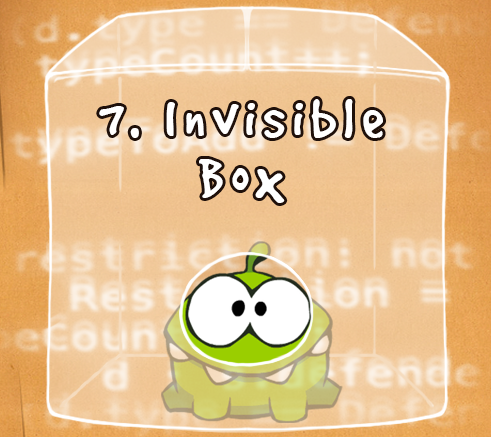Invisible Box Cut The Rope Wiki Fandom Powered By Wikia