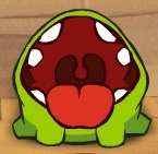 Om Nom Trying To get candy
