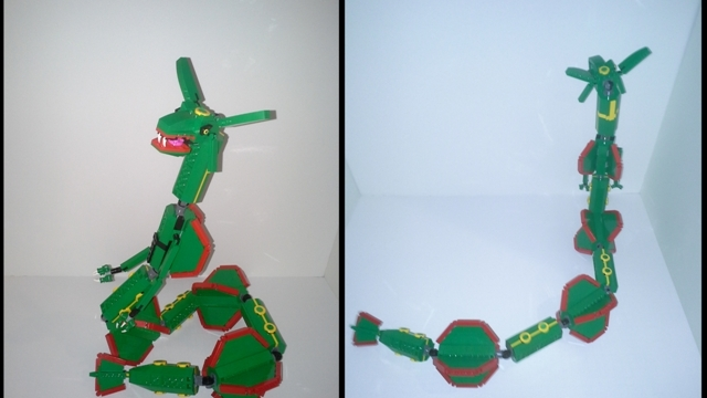 how to build lego pokemon rayquaza