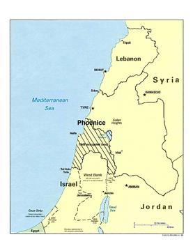 Phoenice occupied land
