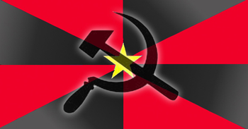 NPO RED HAMMER SICKLE MEDIUM