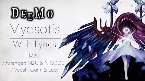 """Deemo """"Myosotis"""" with Lyrics"""