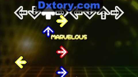 【DDR X2】 Shiny World - DP激 Double Expert