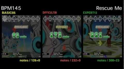 DDR X3 Rescue Me - DOUBLE