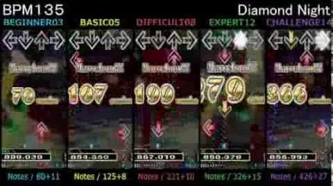 DanceDanceRevolution Diamond Night - SINGLE