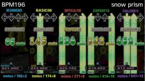 DDR X3 snow prism - SINGLE