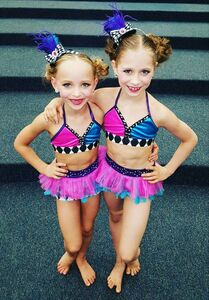 704 Elliana and Lilliana duet costumes 2