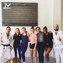 719 Girls at Jiu Jitsu class