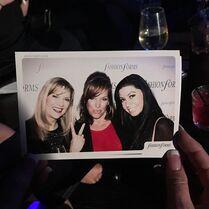 Melissa Jill Kira Grammys party okmagazine 6Feb2015