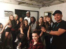 711 Girls on set of MV (3)