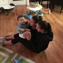 706 Kalani and Kendall with Jett