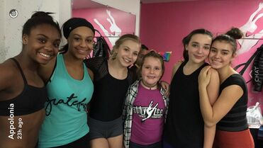 713 Girls in ALDC den
