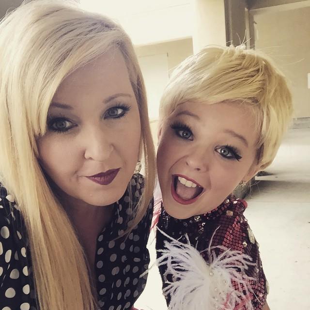 Image - Jessalynn and JoJo (as Miley) - May2015.jpg | Dance Moms ...