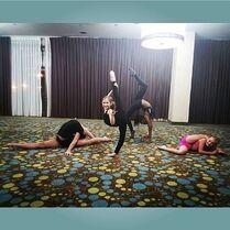707 Camryn, Daviana, Maesi and Elliana after practice