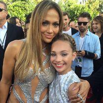 Jennifer Lopez with Maddie 2014 VMA