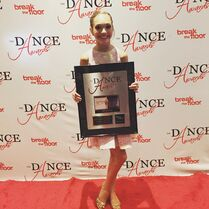 Maddie Ziegler - 3rd runner up - The Dance Awards NYC - July 2015