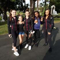 708 Girls at Hollywood Forever Cemetery
