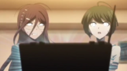Fukawa and Komaru brainwashed