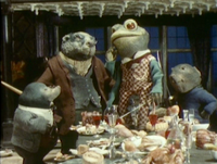 Toad, Badger, Mole and Rat