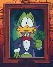 Count Duckula portrait