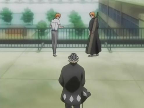 File:Urahara arrives and meets Ichigo.jpg