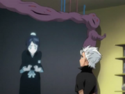 Momo Speaking with Hitsugaya