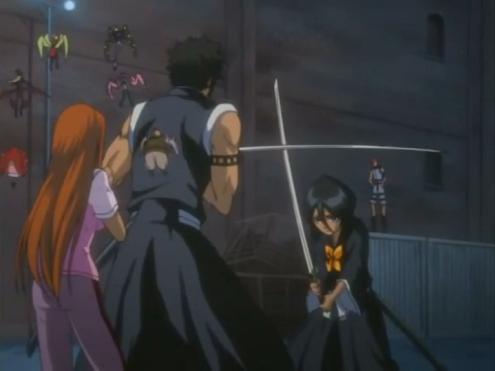 File:Hisagi saves Orihime.png