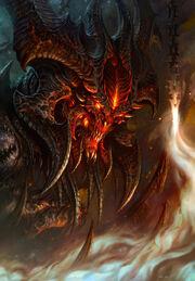 Diablo using his powers