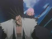 Yachiru Joins Kenpachi