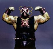 Bane in the movie, Batman & Robin