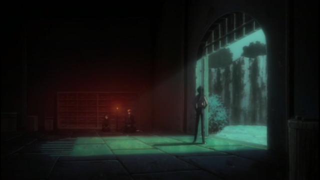File:Yoruichi brings Ichigo and Rukia to a cave.png