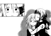 Medusa Hugs her daughter, Crona