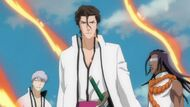 Aizen, Gin, and Tosen freed