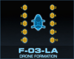how to change drone formation in darkorbit