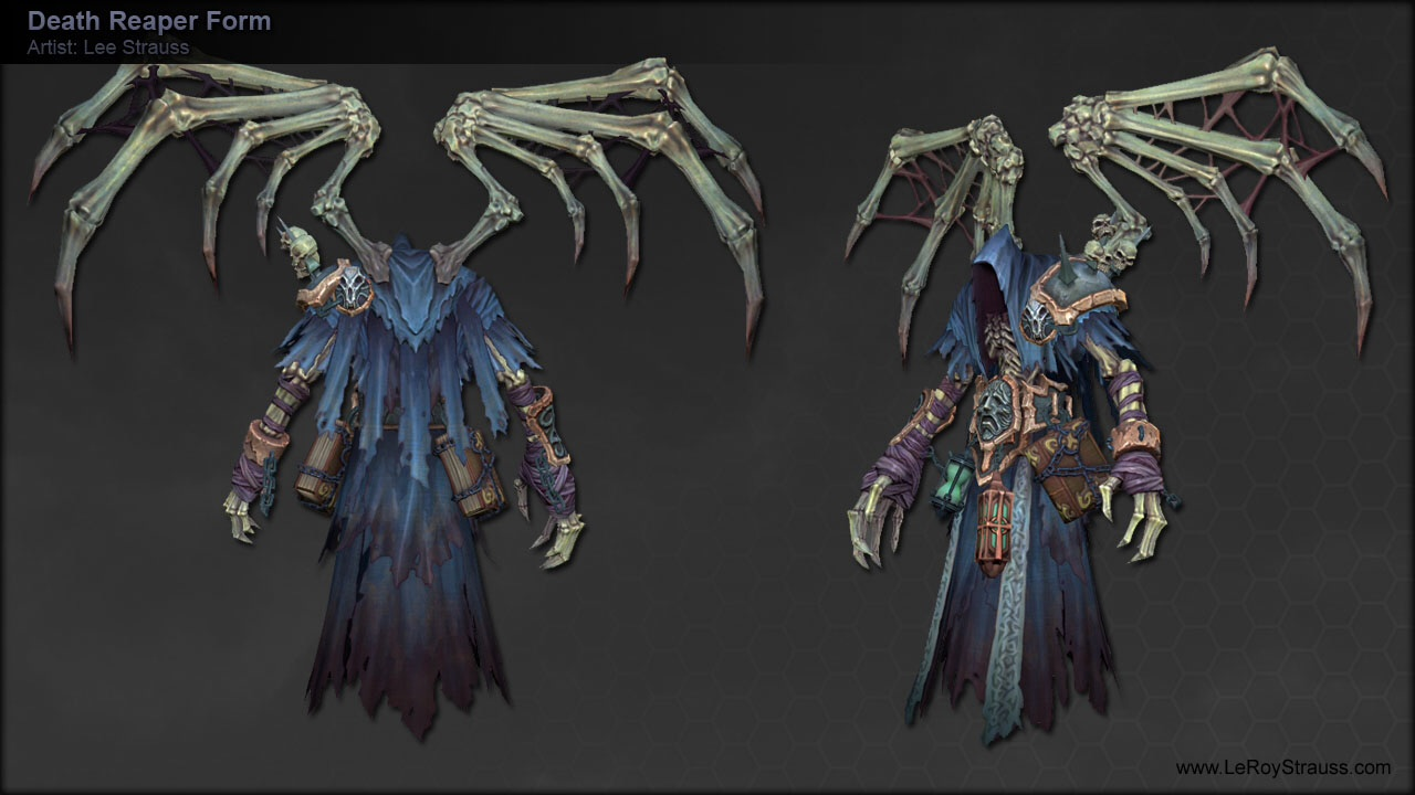 Image - Death chaos form.png | Darksiders Wiki | FANDOM powered by ...