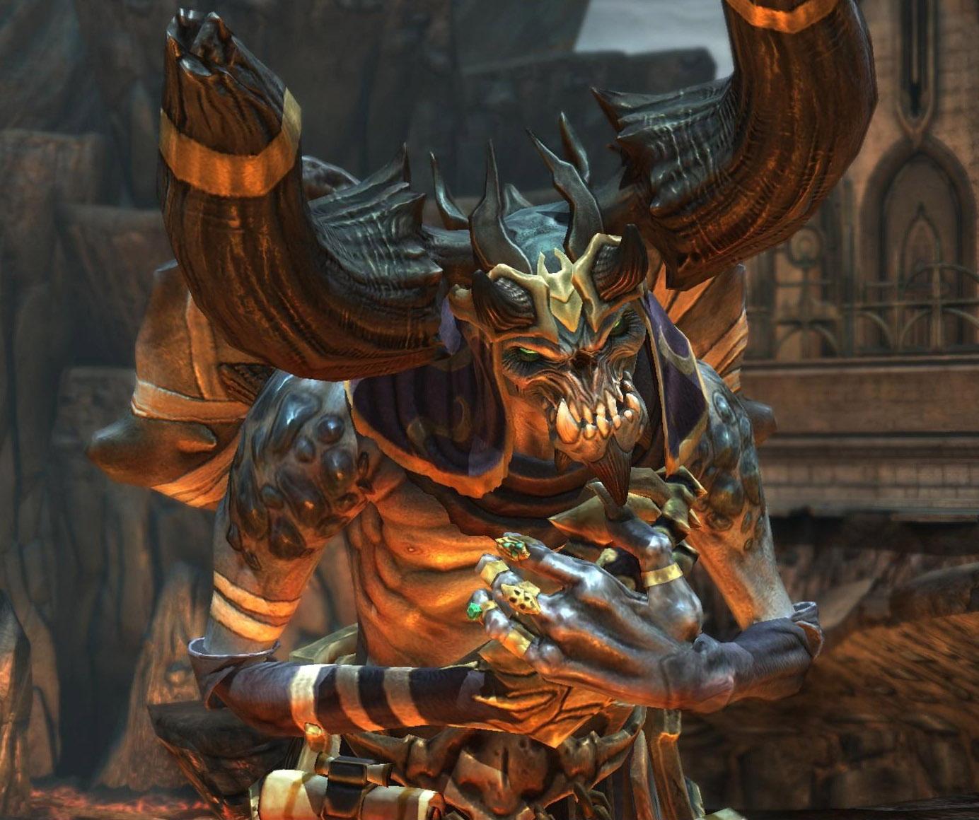 Vulgrim | Darksiders Wiki | Fandom powered by Wikia  Vulgrim | Darks...