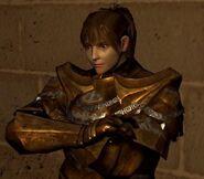Darkmoon Knightess no helm