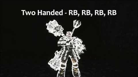 Dark Souls 2 Demon's Great Hammer Tutorial (dual wielding w power stance)
