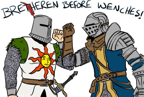 File:Solaire is a bro.jpg