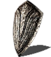 Silver knight shield